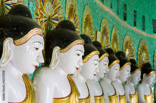 The Temple of the 45 Buddhas, Mandalay