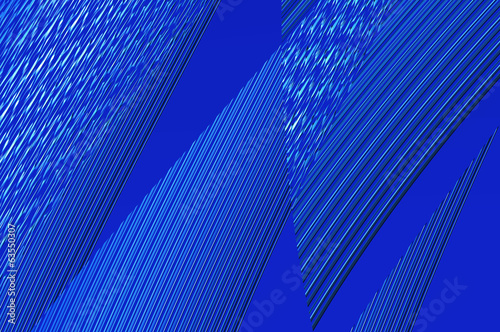 Geometry grace - in blue. Abstract background.