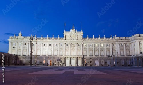Madrid Royal Palace (Palacio de Oriente)