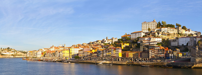 Summer view on Porto, Portugal