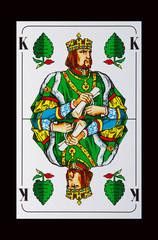 Skat - König-Grün