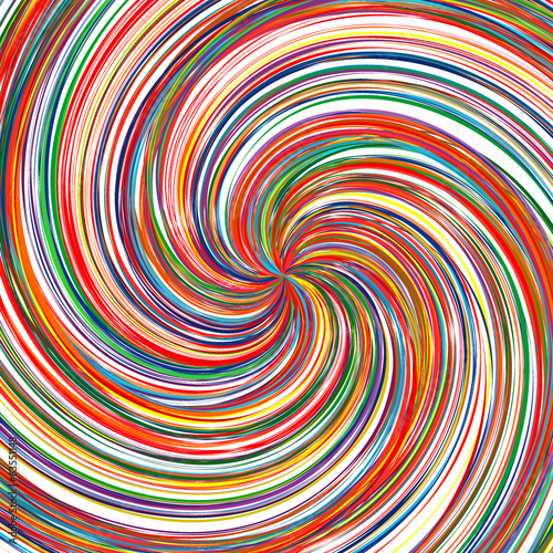 Abstract swirl color stripes background