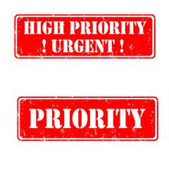 urgent high priority