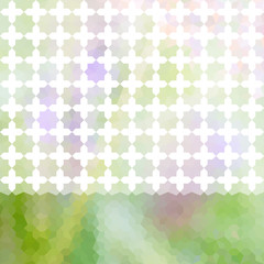 Green and lavender defocused background with bright stripe