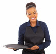 afro american waitress