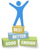 Celebrate personal self improvement