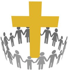 Family Circle Christian Community Cross
