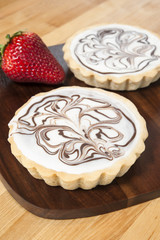 White Chocolate Tarts