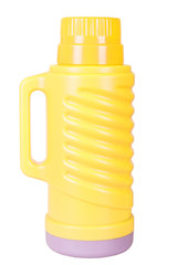The yellow thermos