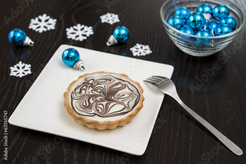 Festive White Chocolate Tart