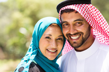 beautiful middle eastern couple