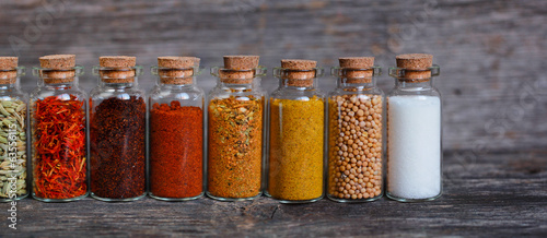 Spices containers