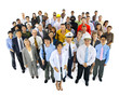 Group of Multiethnic Workers