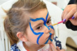 Child face painting