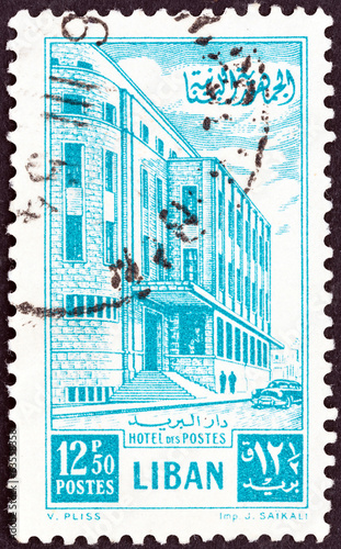 General Post Office (Lebanon 1953)