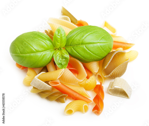 Different tipe of pasta