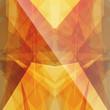 bright sun triangular square background button icon with flare