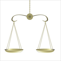 gold Balance for food and justice