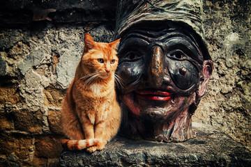 Gatto e Pulcinella