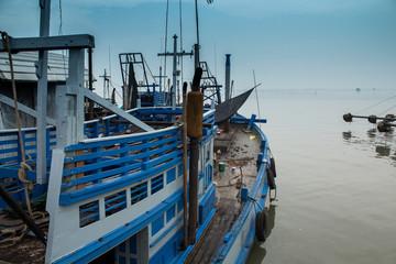 Modern fishing boat