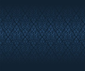 Noble seamless Damask wallpaper