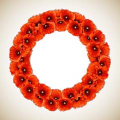 Wreath of Poppies