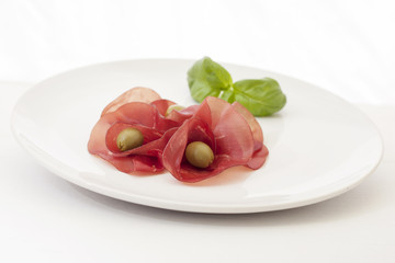 Bresaola,dried beef