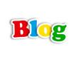 """BLOG"" (social media news online website web internet news icon)"