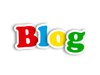 """BLOG"" (social media news online website web internet news icon)"