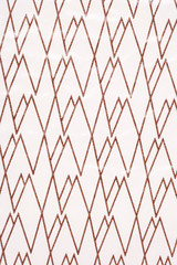 brown and white zig zag abstract