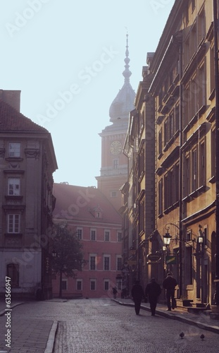 Morning in old town