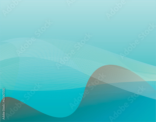 Light blue marine background, vector illustration
