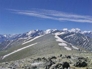 Mountains Altai