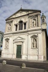 Milan - San Barnaba church, mannerist facade - Lombardy