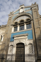 Central Synagogue in Milan, Lombardy Italy