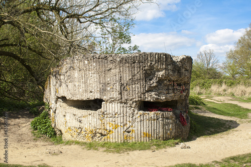 Bunker pillbox on Hill 60 world war one