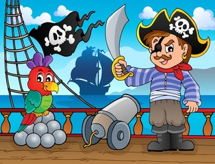 Pirate ship deck topic 3