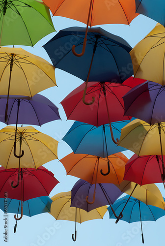 Colorful umbrellas-2