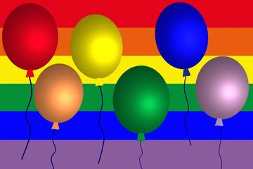 Gay Pride  -  Fête