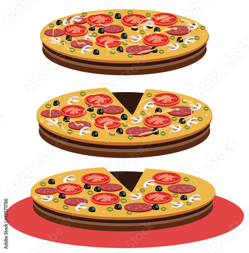 Pizza - Illustration