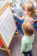 Two smart children