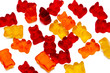 chewing candies, vitamins of a bear isolated - 63573920