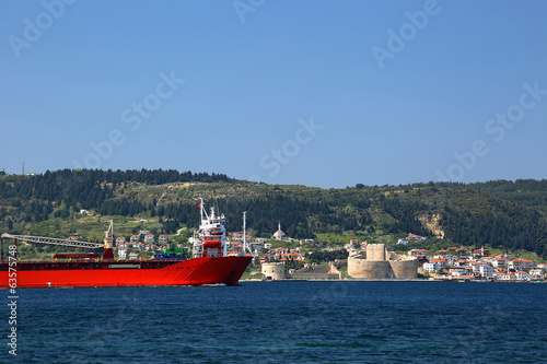 The Dardanelles and Kilitbahir Castle