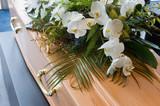 Coffin in morque - 63575997