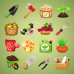 Farmers Tools Icons Set1.1