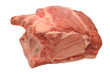 Pork Rib Roast Isolated Over White