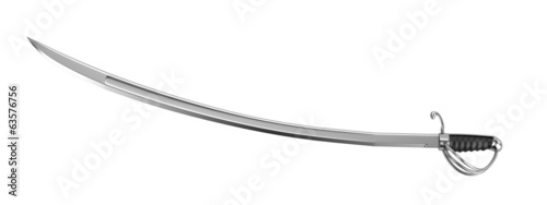 realistic 3d render of sabre