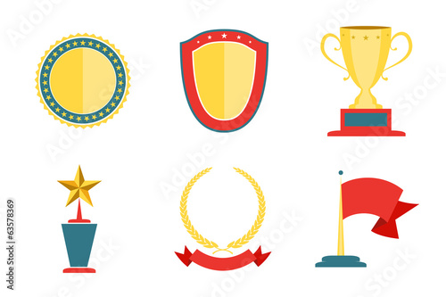 Award badges collection