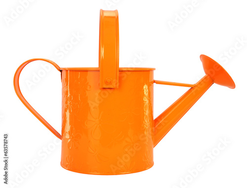 Lovely orange watering can