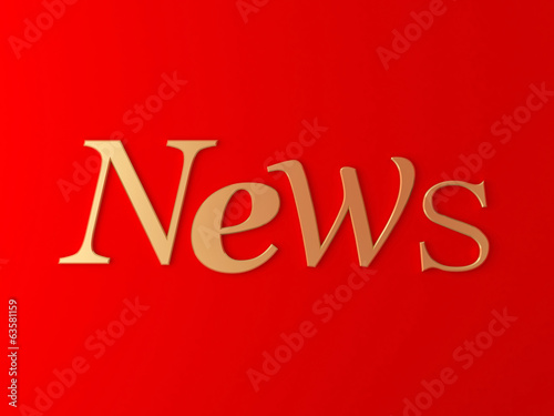 News abstract red background